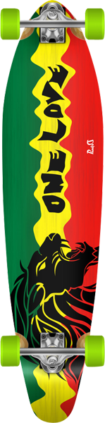 Punked Rasta Ii Kicktail Lb Complete-10X40 Ppp