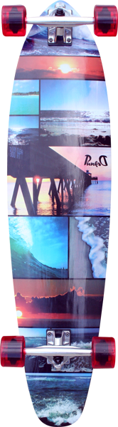 Punked Seaside Kicktail Lb Complete -10X40 Ppp