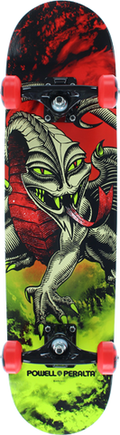 Pwl/P Cab Dragon Complete-7.75 Storm Red/Lime