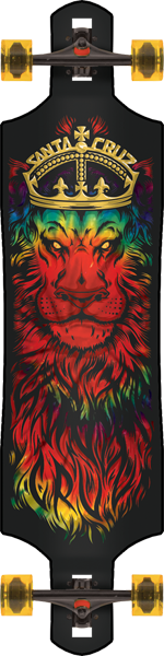 Sc Drop-Thru Lion God Complete-10X40 Rasta Tie Dye