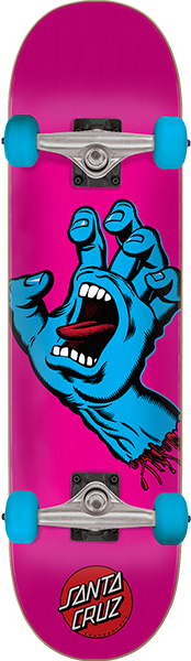 Sc Screaming Hand Complete-6.75 Pink