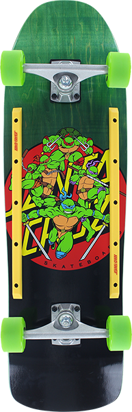 Sc Tmnt Turtle Power 80'S Complete-9.35X31.7