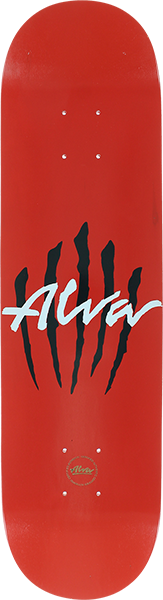 Alva Scratch Logo-8.0 Red