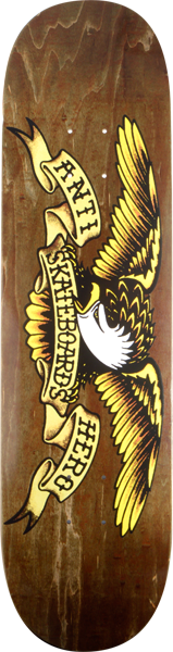 Ah Stained Eagle Lg Deck-8.28 Brown