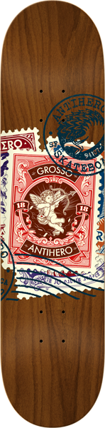 Ah Grosso Postal Deck-8.75 Assorted Stains