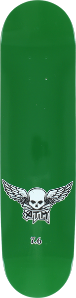 Atm Mini Wings Deck-7.62 Solid Kelly Green Ppp