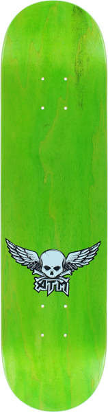 Atm Mini Wings Deck-7.75 Lime Ppp