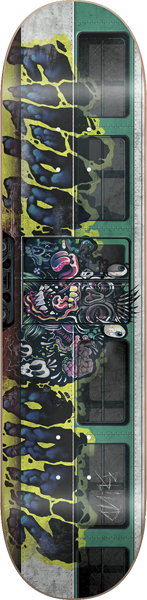 Blind Ortiz Train Tag Deck-8.0 Resin7