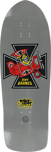 Bll Barnes Red Baron Deck-10.25X31.5 Grey Dip