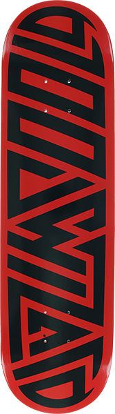 Blood Wizard Future Wasteland Deck-8.12 Red/Blk