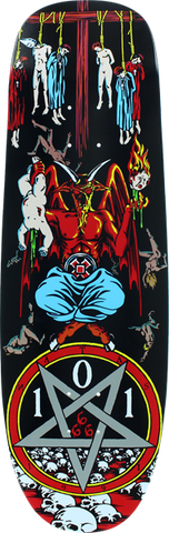 Cliche Natas Devil Worship Deck-9.62 Transfer