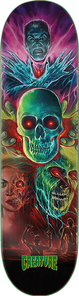 Creature Overlordz Deck-8.37 Ltd.
