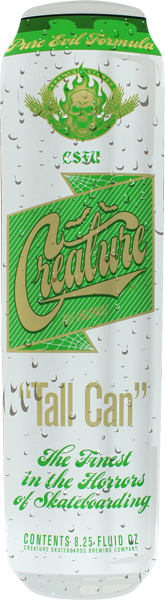Creature Tall Can Deck-8.25X31.77