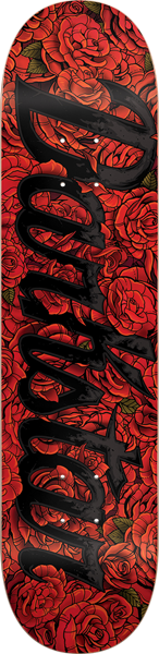 Dst Roses Deck-8.12 Red