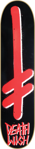 Dw Gang Logo Deck-8.25 Blk/Red