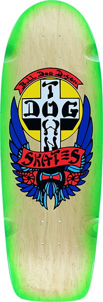 Dogtown Og Rider Bull Dog Decks-10X30.25 Nat/Grn