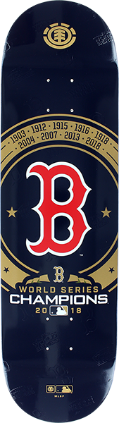 El Mlb World Series Champs 2018 Deck-8.25