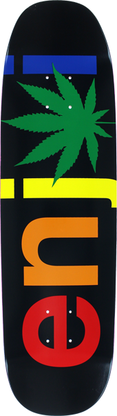 Enjoi Chronic Wide Deck-8.5 Blk/Rasta  R7