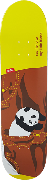 Enjoi Little Friend Deck-8.0 W/Brown Pants  R7