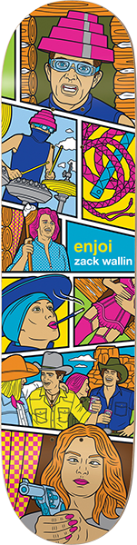 Enjoi Wallin Veejay Deck-8.25 R7