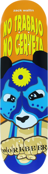 Enjoi Wallin Wrestling Mask Deck-8.25 Imp-Lt