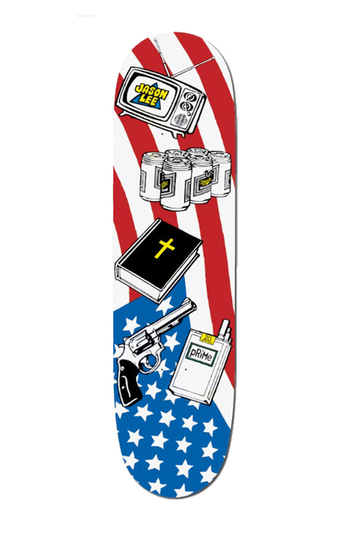 Prime Jason Lee Icons Popsicle Deck