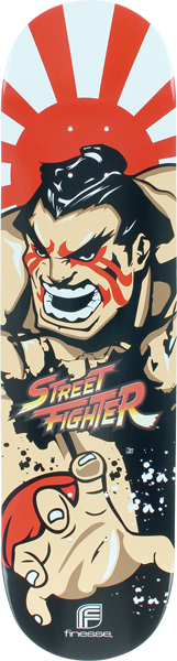 Finesse Streetfighter Ehonda Deck-8.0
