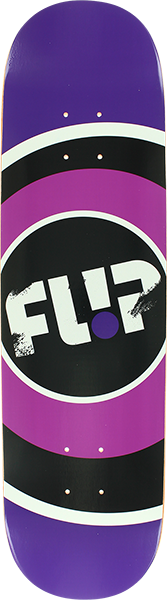 Flip Start Logo Deck-8.13 Purple