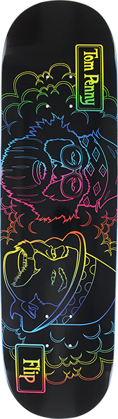 Flip Penny Toms Friends Blacklight Deck-8.25