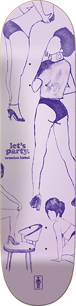 Girl Biebel Party Girls Deck-7.87