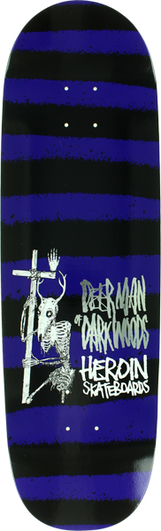Heroin Dmodw Striped Icon Deck-9.25