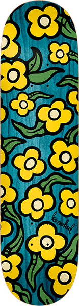 Krooked Wildstyle Flowers Deck-7.75