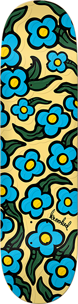Krooked Wild Style Flowers Emb Deck-8.06