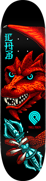 Pwl/P Cab Dragon Wing Deck-8.25 Blk/Red/Blu
