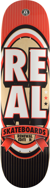 Real Renewal Stack Xl Deck-8.25 Red Ppp