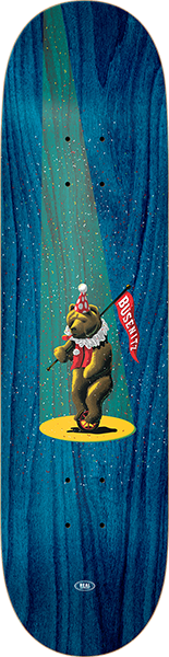 Real Busenitz Circus Bear Deck-8.25