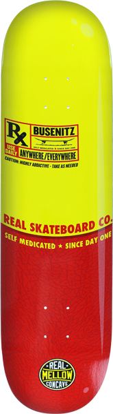 Real Busenitz Pill Deck-8.25 Mellow
