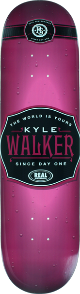 Real Walker Rare Rose Deck-8.25
