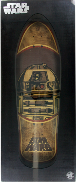Sc Star Wars R2-D2 Inlay Collectible Deck-10.35X31