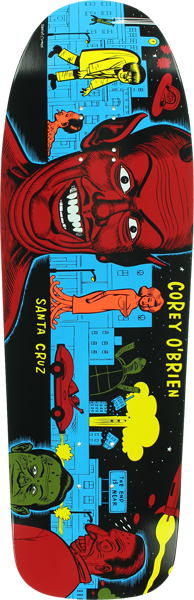 Sc Obrien Mutant City Deck-9.75X31.86 Blu Reissue