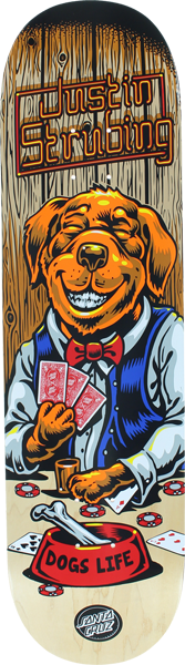 Sc Strubing Poker Dog Deck-8.3
