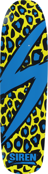 Siren Leopard Deck-8.5X32.75 Yellow