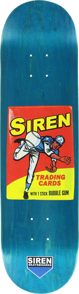 Siren Wax Packs Baseball Deck-8.1 Assorted