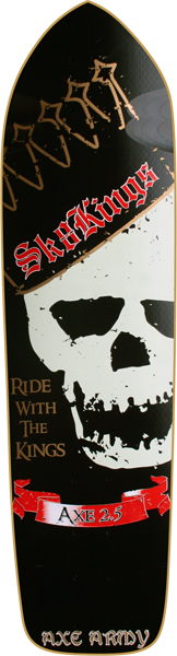 Sk8kings Skully Axe 2.5 Ultimate Deck-8.625X32.5