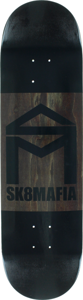 Sk8mafia House Double Dip Deck-8.38 Black