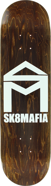 Sk8mafia House Logo Stained Deck-8.25 Asst.Stain