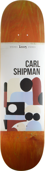 Stereo Shipman Collage Deck-8.25
