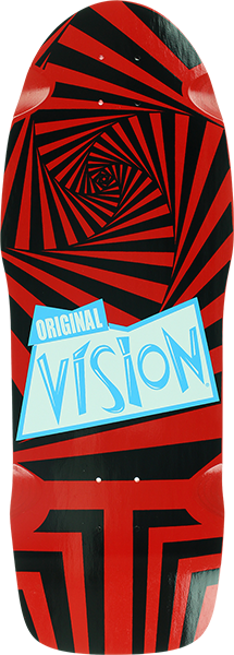 Vision The Original Vision Deck-10X30 Red/Blk