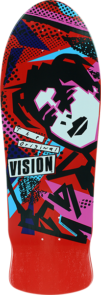 Vision Original Mg Deck-10X30 Red/Pink