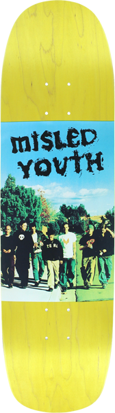 Zero Mislead Youth Photo Deck-8.5X32 Yel